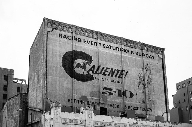 Old Caliente Sign