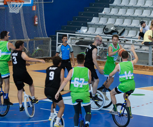 Basketball championship game