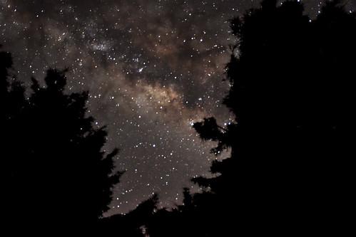 雪山-七卡山莊銀河