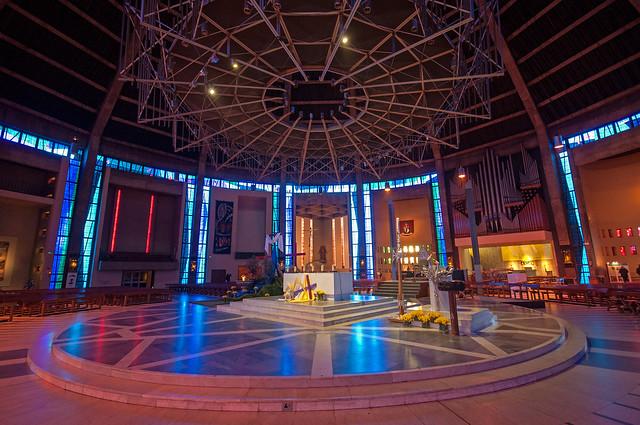 Liverpool Metropolitan Cathedral - interior