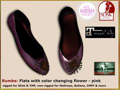 Bliensen - Rumba - Flats - pink