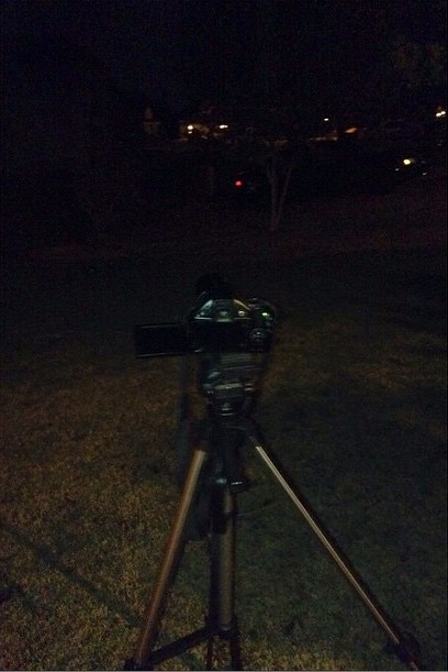 Taking pics of the #LunarEclipse