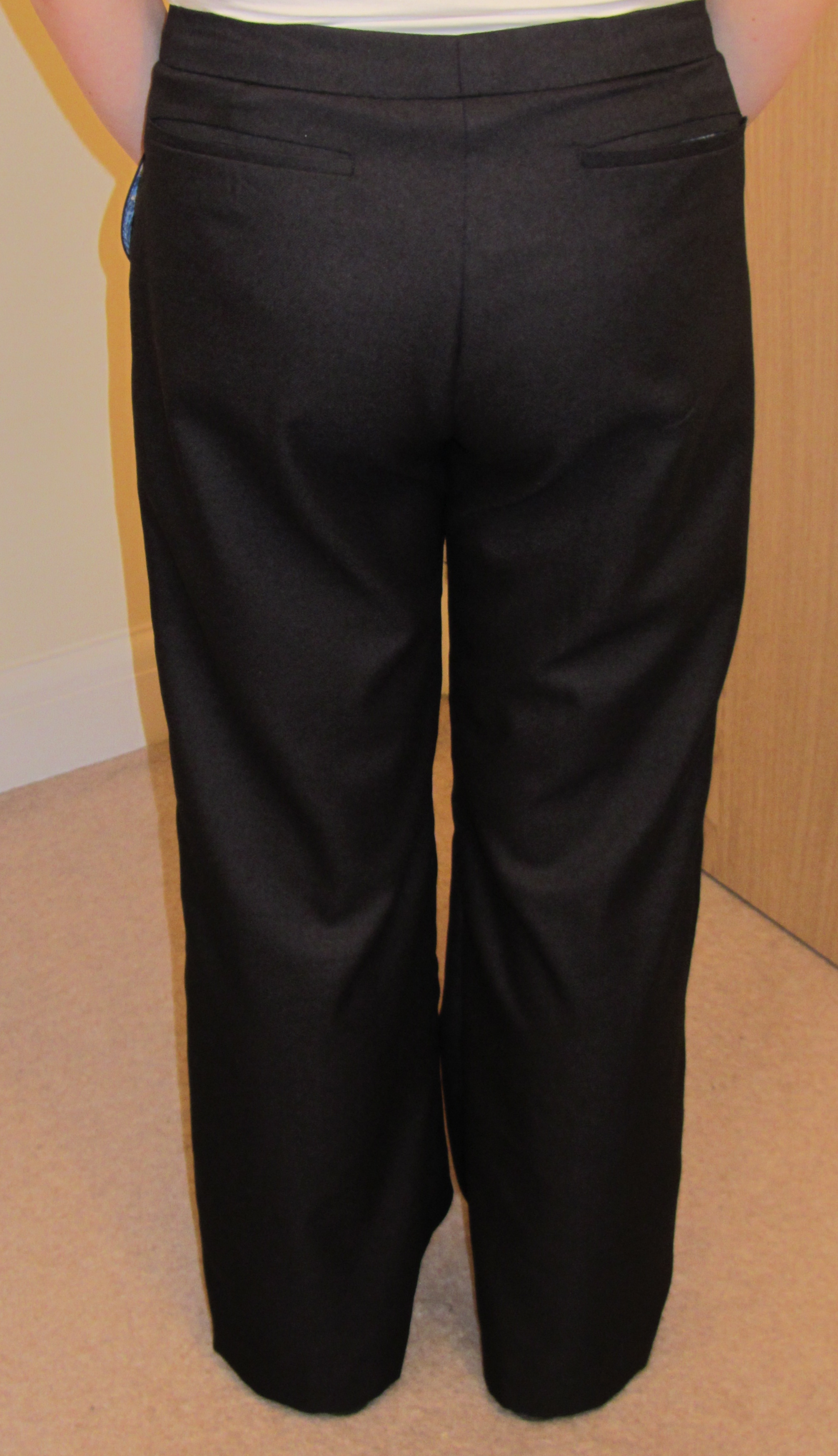 Editorial trousers back
