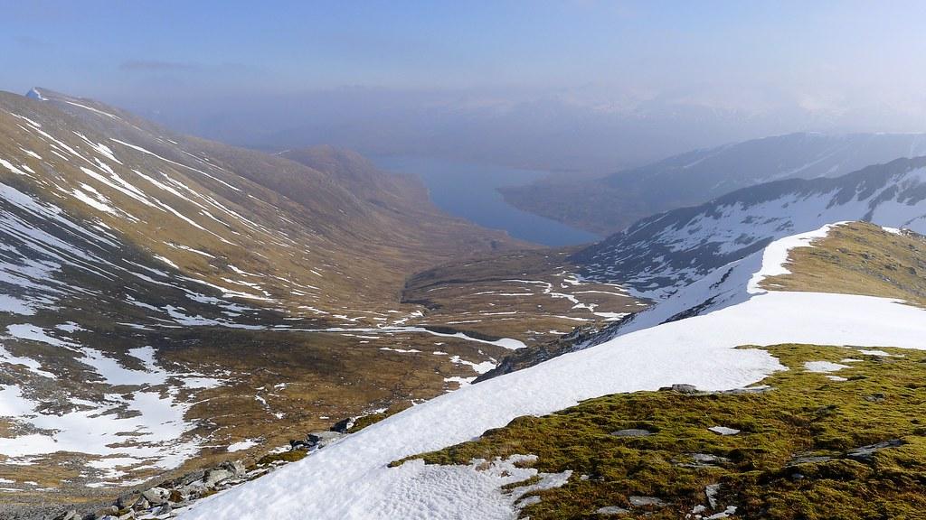 Loch Monar from Sgurr Choinnich