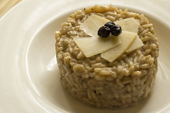 Risotto with myrtle and mint