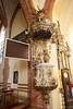 Chrzcielnica (1779) w kościele Narodzenia NMP w Piasecznie