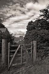 Closed gate...