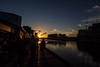 Boatbuilders Yard Sunset
