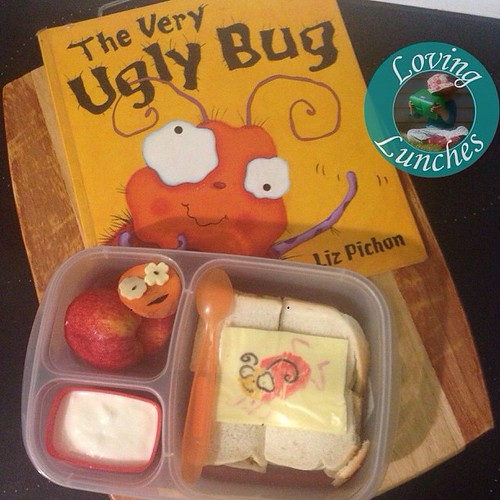 Loving an Easy, Very Ugly @easylunchboxes for tomorrow… #theVeryUglyBug #LiteraryLunch #easylunchboxes