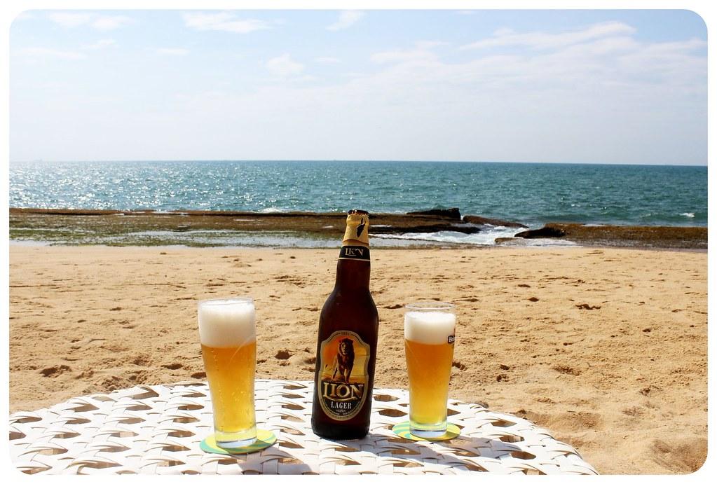 reefs edge hotel beach beers