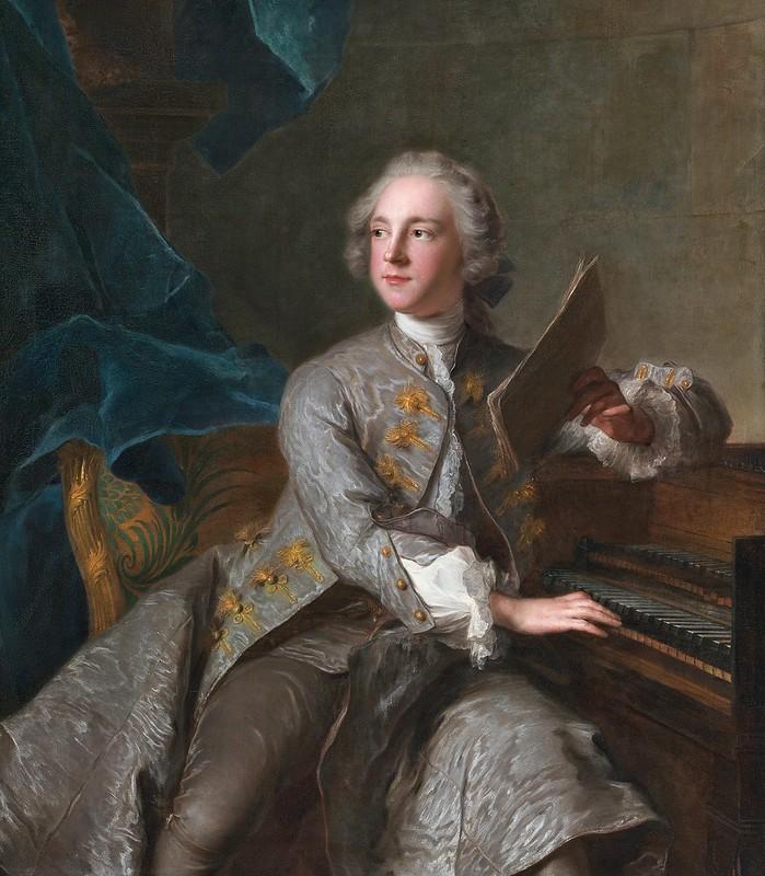 Jean-Marc Nattier - Francis Greville, Baron Brooke, later 1st Earl of Warwick (1719-1773) [c.1741]