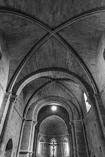 Iglesia de Santa María de la Horta. Interior