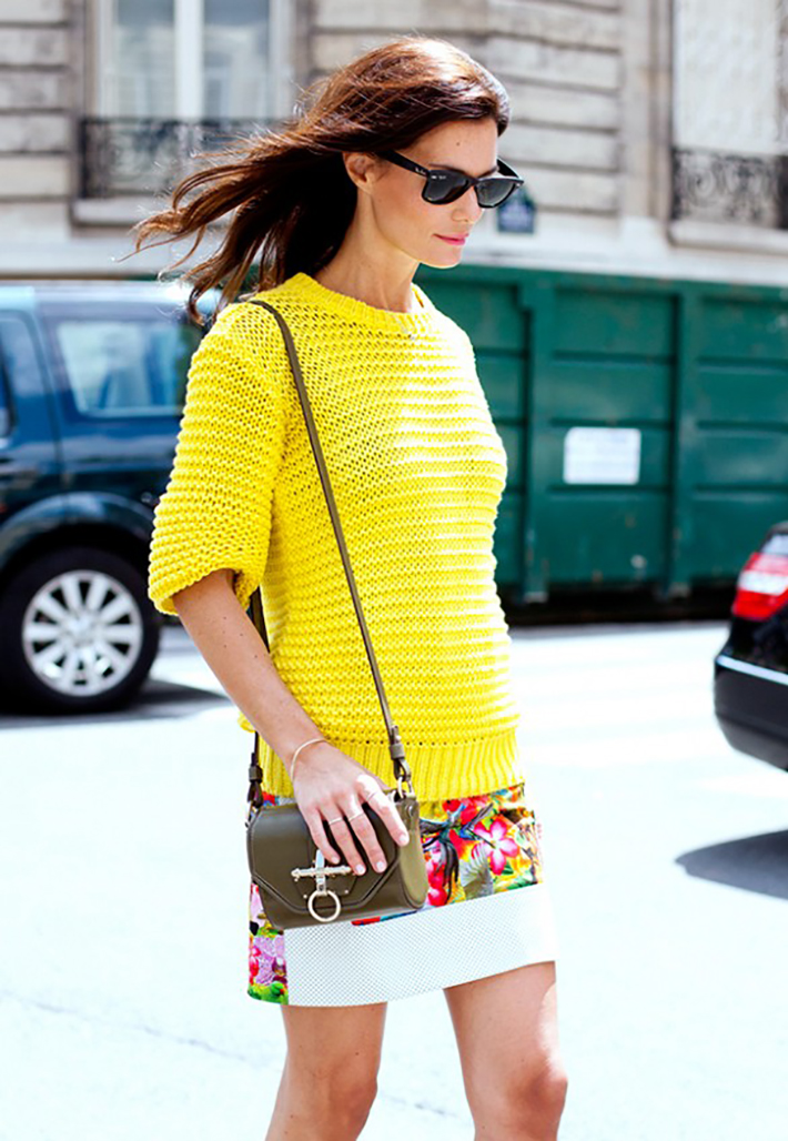streestyle spring outfits bright colors10