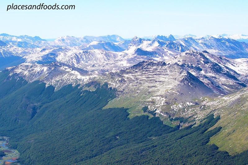 ushuaia mountains