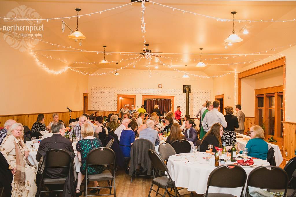Round Lake Hall Wedding Reception
