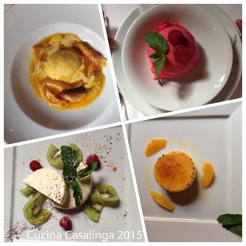 Osteria Italiana Nachspeisen