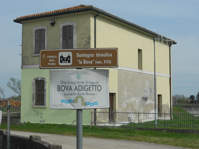 sostegno idraulico, Badia Polesine