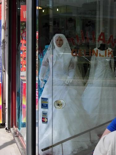 Vestido de novia turco