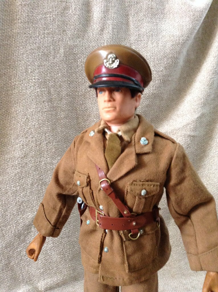 Action Man From Palitoy British Officier Vintage 1970s