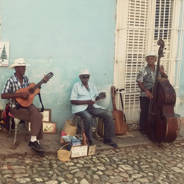 Muusikot, Trinidad, Kuuba