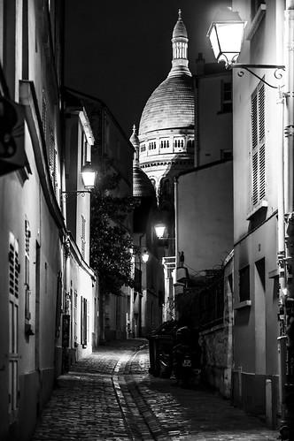 Montmartre, Vue sur le Sacré-Coeur