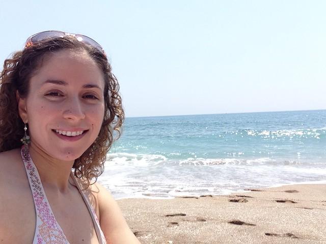 Beach selfie 2