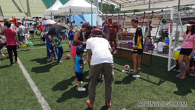 Football for the little ones