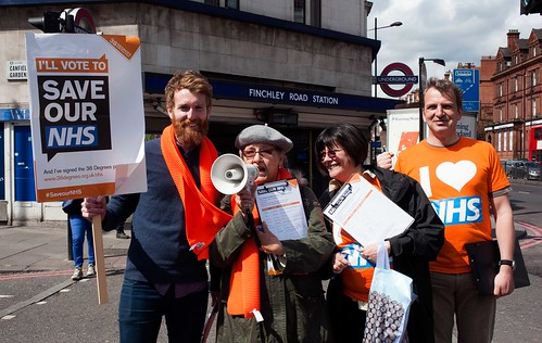 Hampstead and Kilburn - Save our NHS day of action