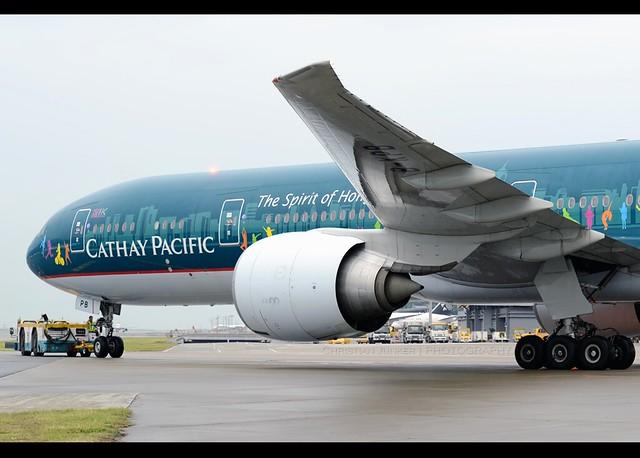 Boeing | 777-367/ER | Cathay Pacific Airways | The Spirit of Hong Kong | B-KPB | Hong Kong | HKG | VHHH