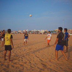 sports, beach soccer, team sport, football, ball game, ball,