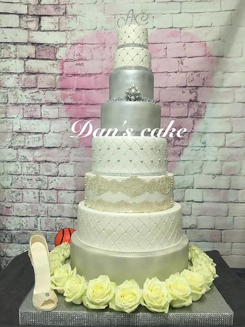 Wedding Cake by Dan's Cake