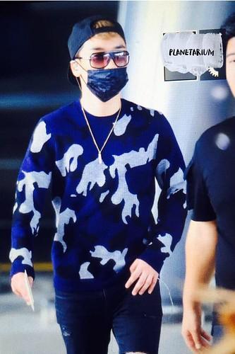 BIGBANG arrival ICN Seoul from Taiwan 2015-09-28 (37)