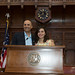 Rep. Noujaim recently gave his niece Leila Rizk a tour of the state capitol and legislative office building. Rizk recently moved to Boston, MA from her native Lebanon to attend University.
