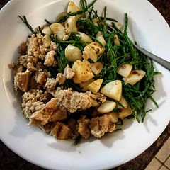 Tokyo Turnip and Samphire Sautee with Soy