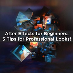 "Free: ""After Effects for Beginners: 3 Tips for Creating Polished and Professional Looks"" https://t.co/irUZNsz4Bv"