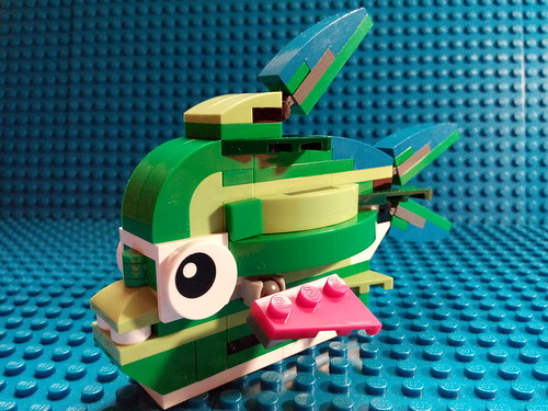 LEGO Creator 31031 | Is this Lego-fish carnivorous?