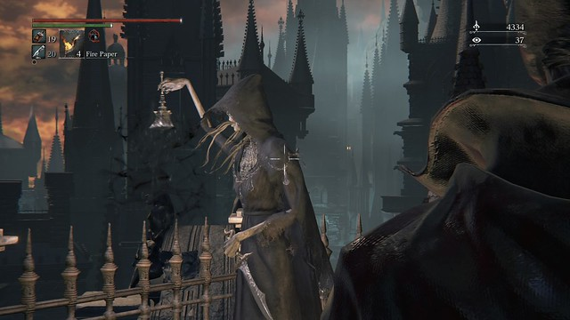 Woman Ringing Sinister Bell Bloodborne