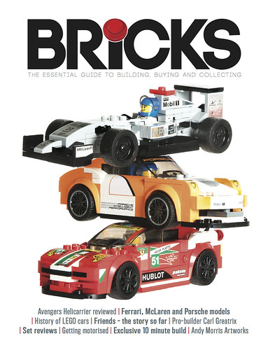 Lego for adults magazine