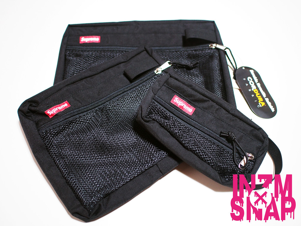 Supreme | Mesh Organizer Bags (Set of 3)