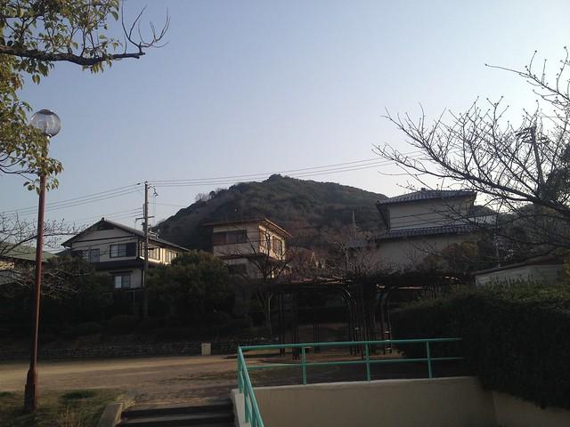 六甲全山縦走路 高倉台より栂尾山