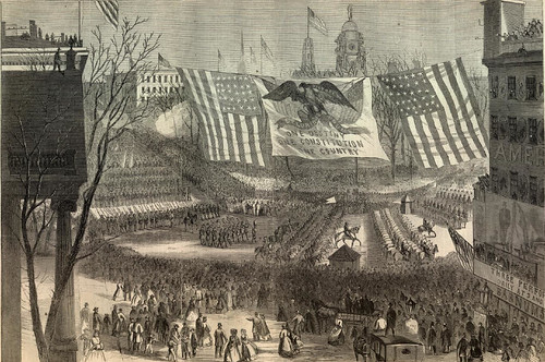 Victory parade, March 6, 1865
