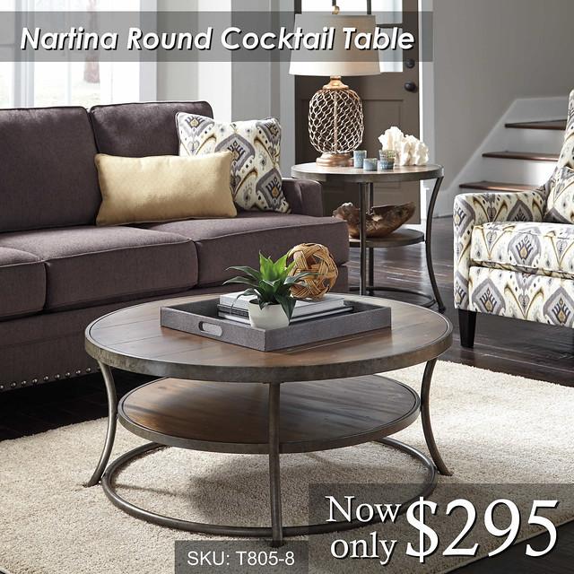 Nartina Cocktail Round
