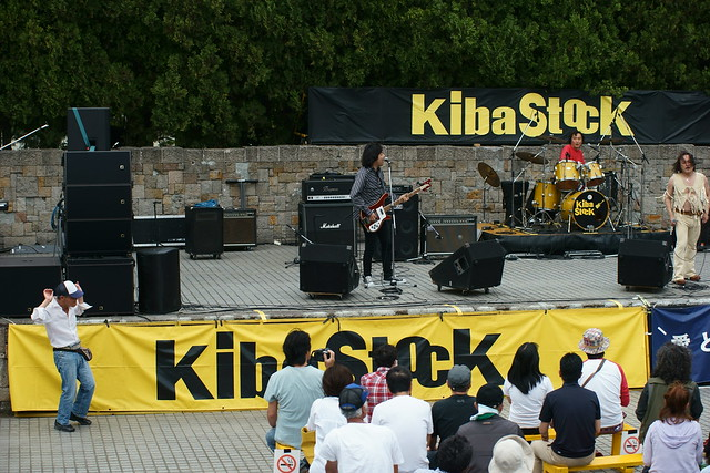 The Shepherd's Bush Irregulars live at KibaStock, Tokyo, 04 May 2015. 083