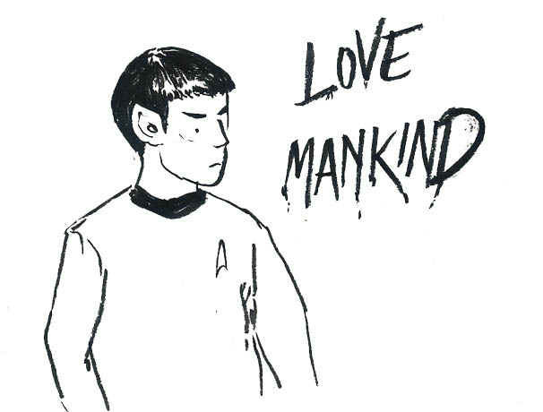 Spock-love mankind