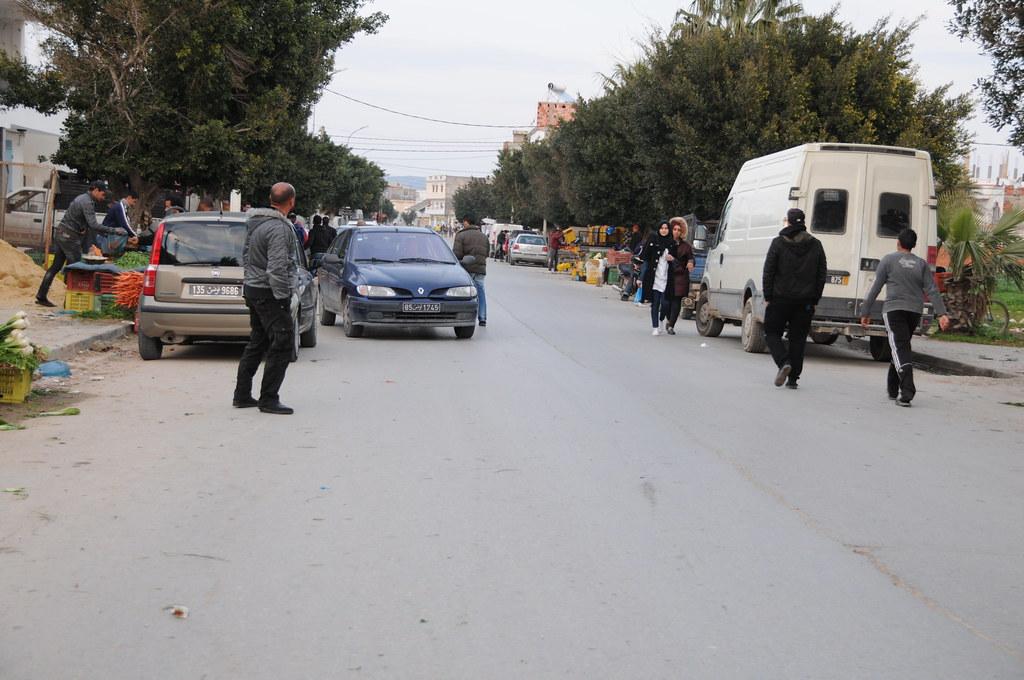 Jour de marché à Aousja (nord est de la Tunisie)