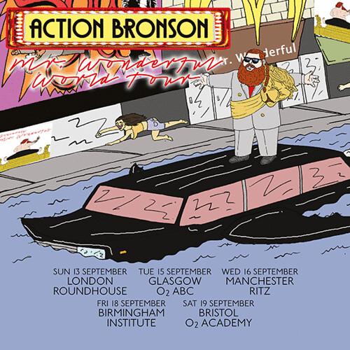 Action Bronson - Mr. Wonderful Tour