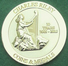 Chrles Riley Medal 2015 obverse