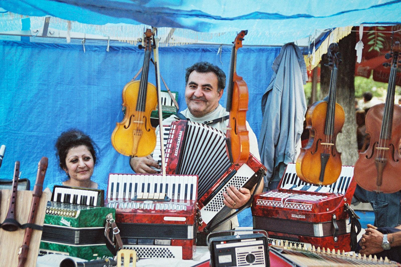 Tomber sous le charme de l'Arménie - Le joueur d'accordéon