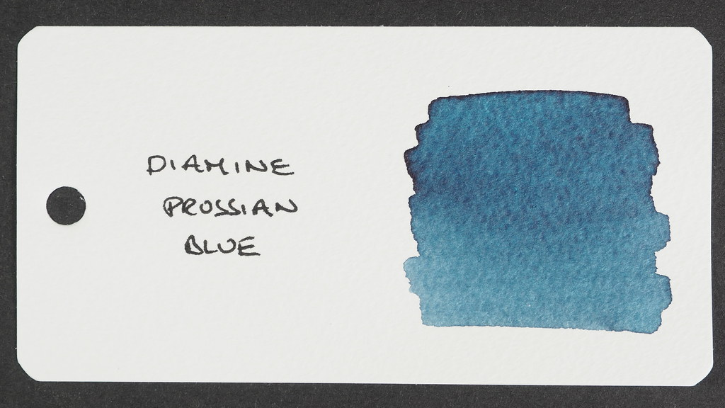 Diamine Prussian Blue Reference