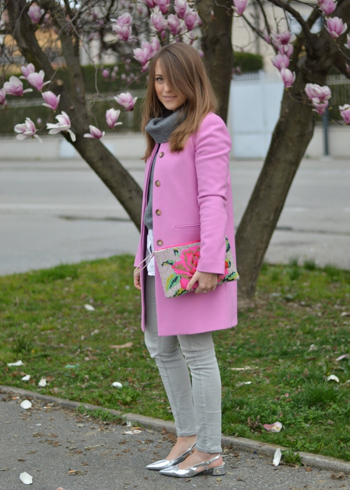 magnolia, wildflower girl, outfit, benetton, rosa (10)